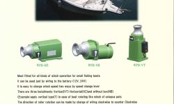 BATTERY WINCH MARINE