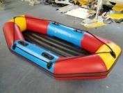 Inflatable rafting boat